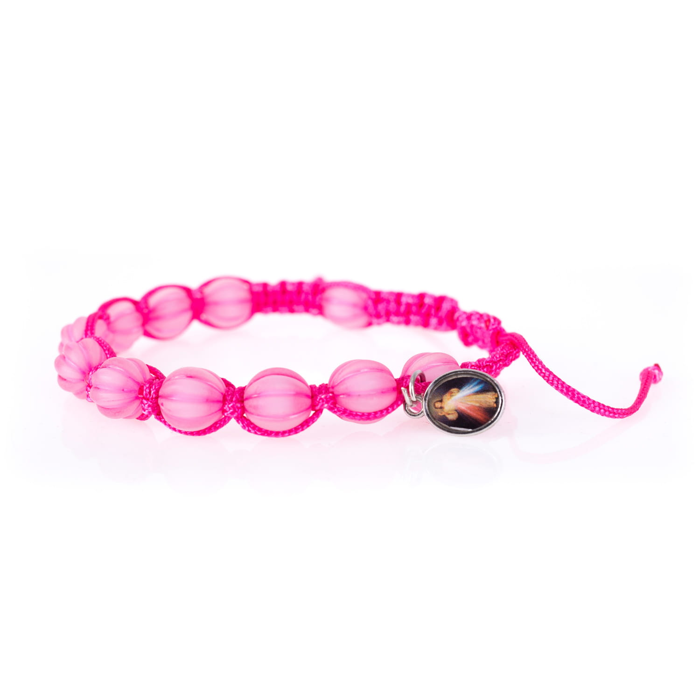 Bracelet - single decade rosary - Merciful Jesus Jakóbczak Studio